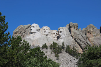 Washington - Jefferson - Roosevelt - Lincoln